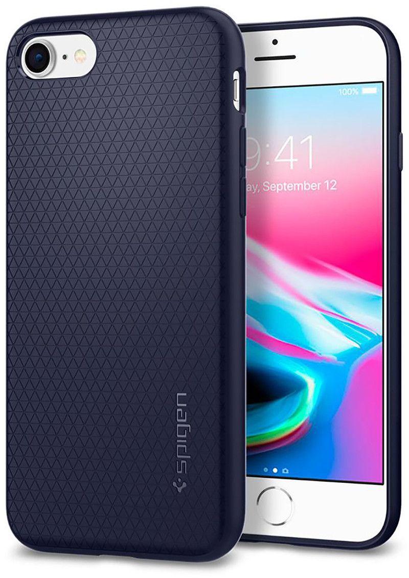 Spigen Liquid Air (iPhone SE2/8/7) - Blå