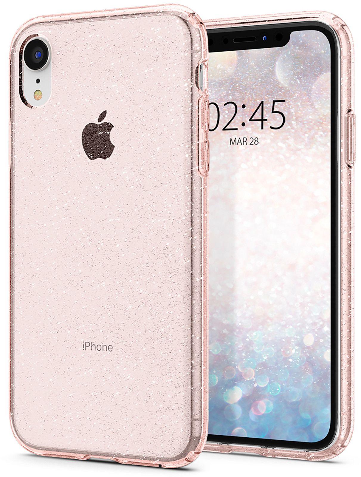 Spigen Liquid Crystal Glitter (iPhone Xr) - Transparent
