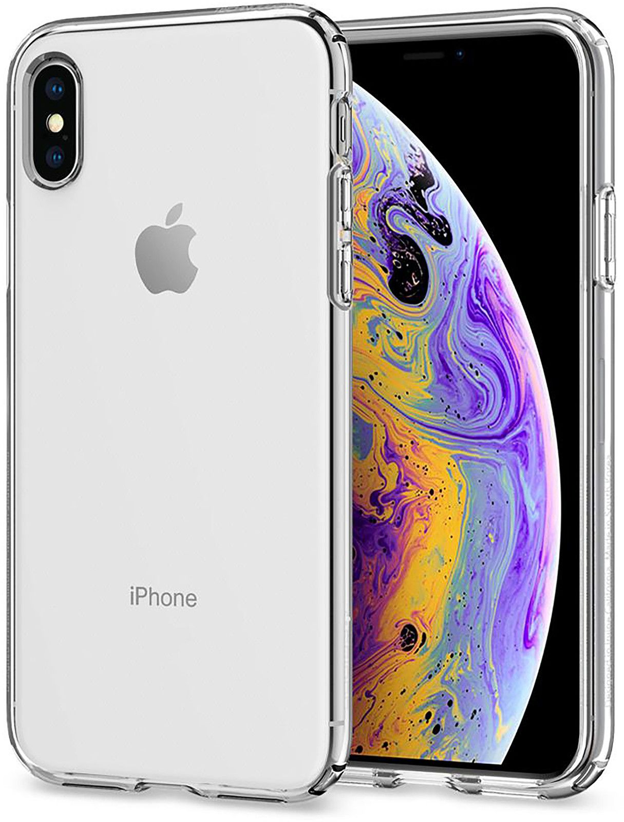 Spigen Liquid Crystal (iPhone Xs)