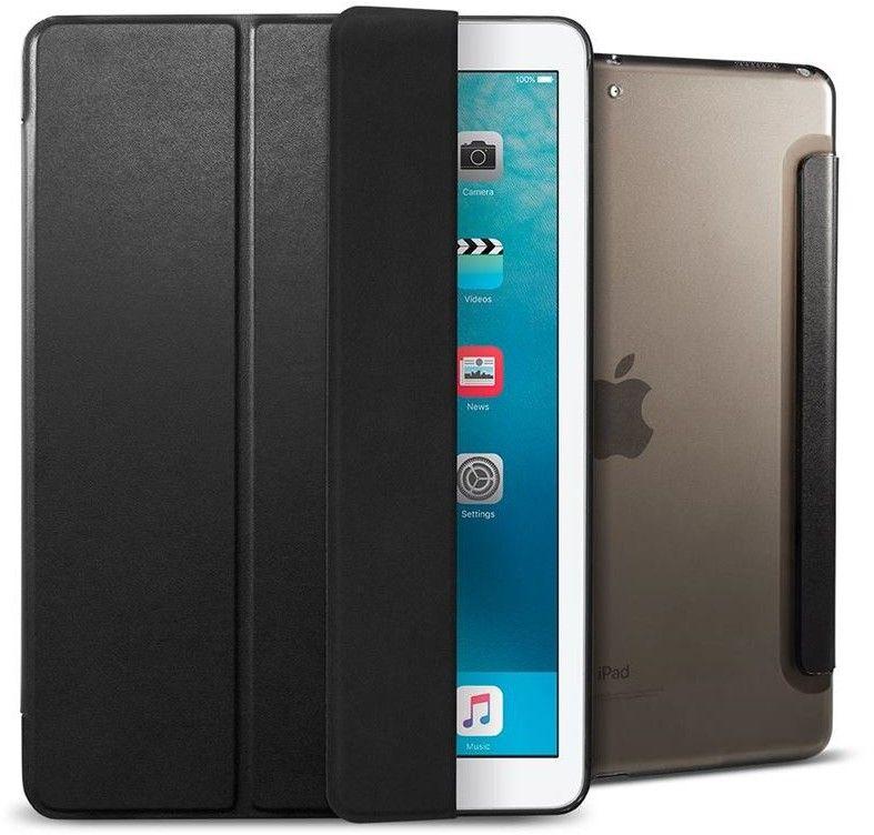 Spigen Smart Fold Case (iPad 9,7) - Svart