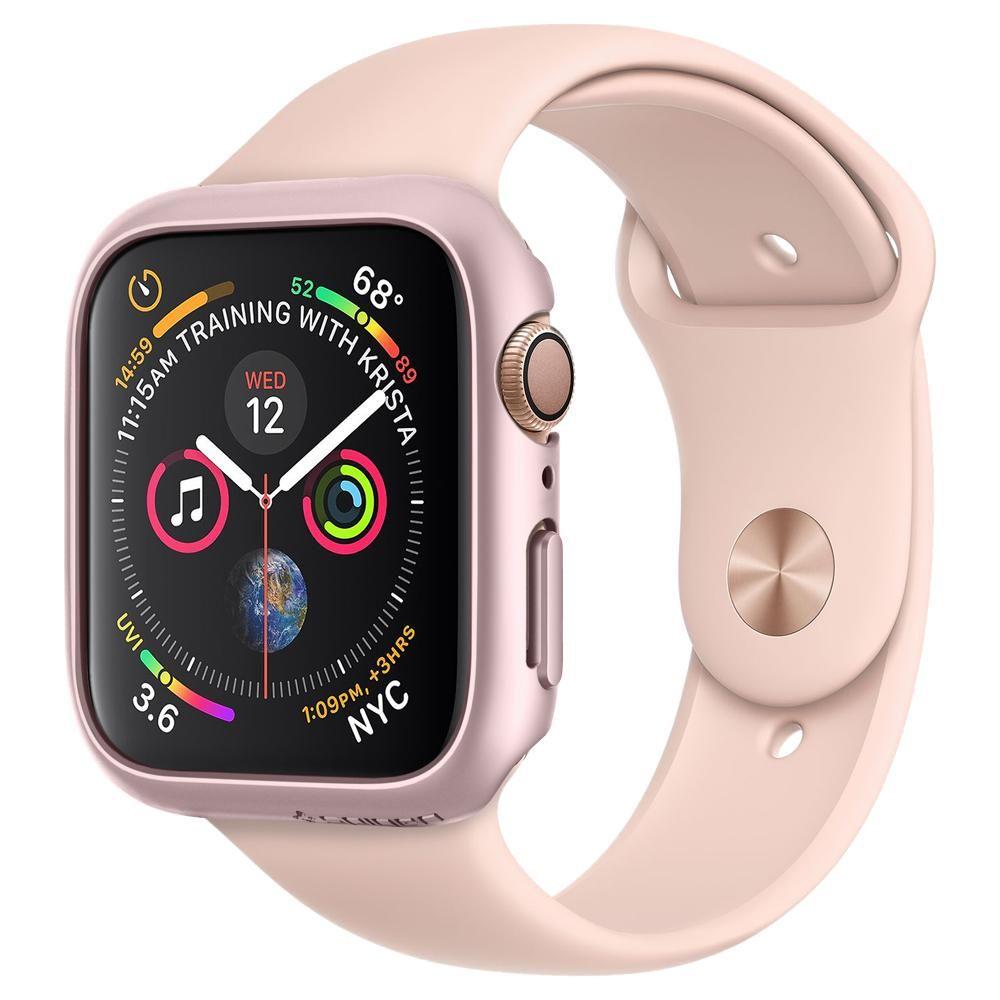 Spigen Thin Fit (Apple Watch 44 mm) - Röd