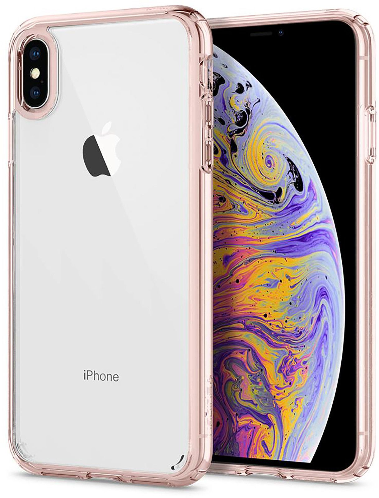 Spigen Ultra Hybrid (iPhone Xs Max) - Transparent