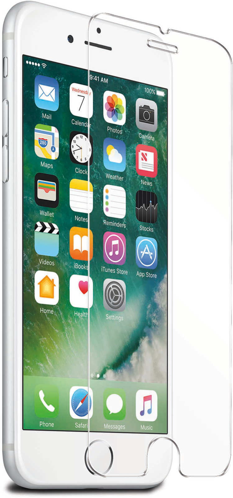 Streetz Härdat Glas (iPhone 6(S)/7 Plus)