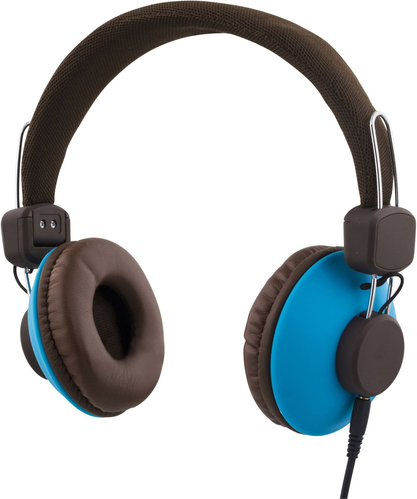 Streetz Headset with Cable - Brun/blå