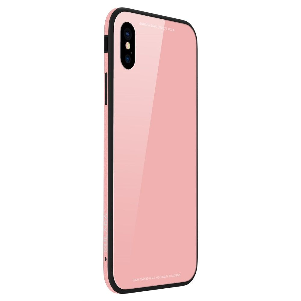Sulada Tempered Glass Cover (iPhone Xr) - Rosa