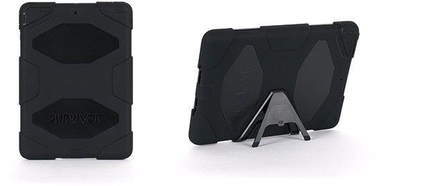 Griffin Survivor (iPad Air) - Svart