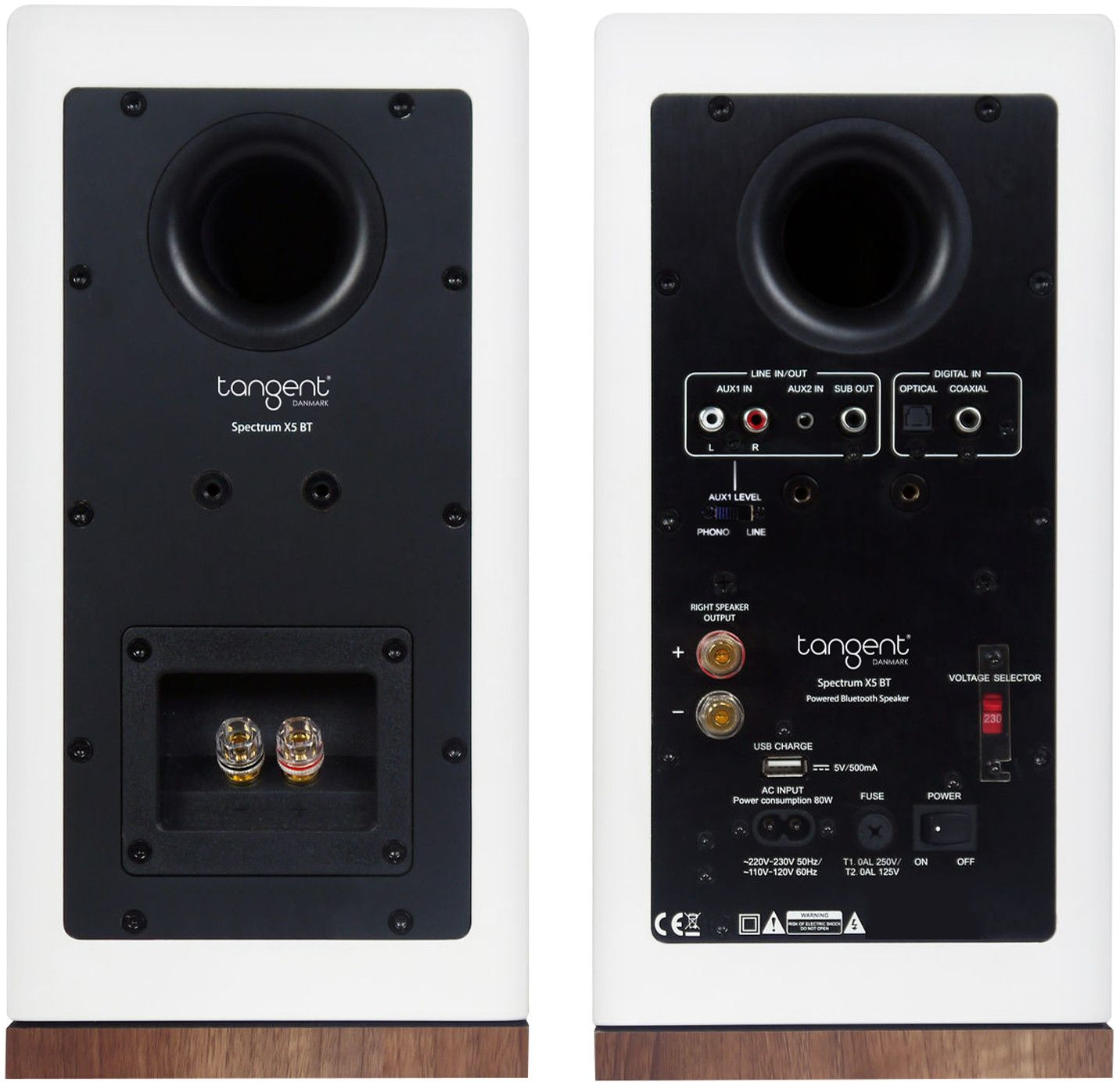 Tangent Spectrum X5 BT Phono Pair