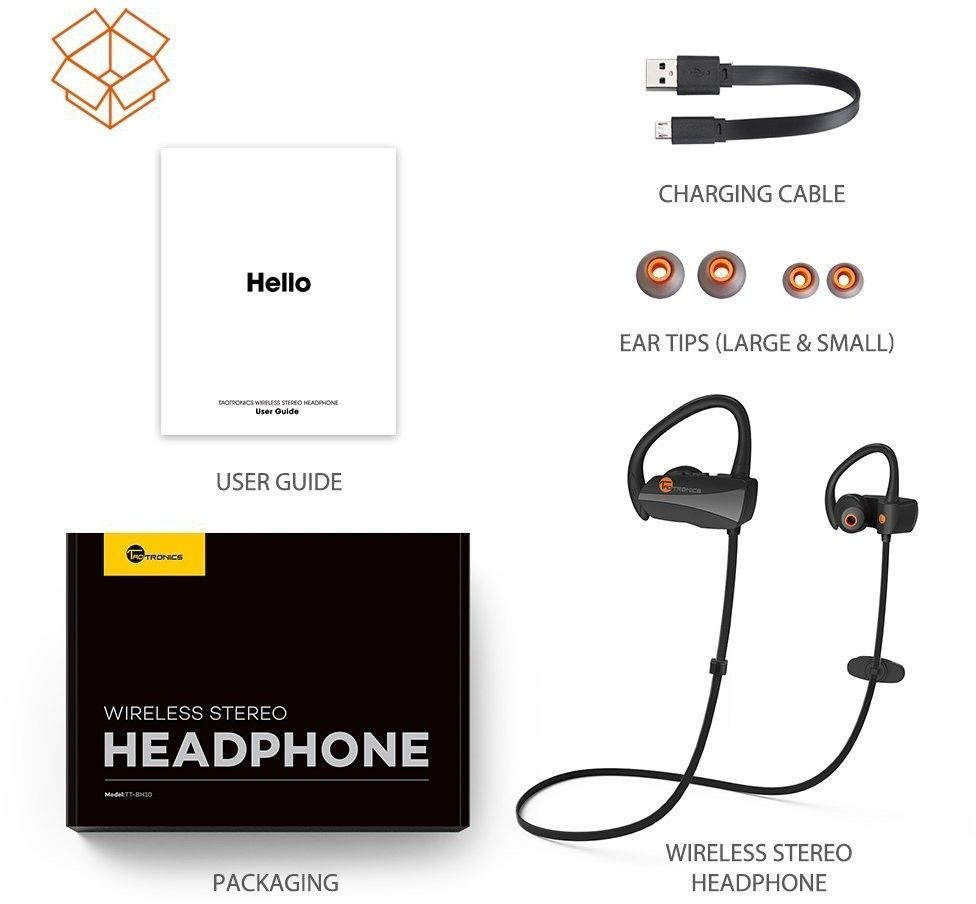 TaoTronics Bluetooth Sport Headphones