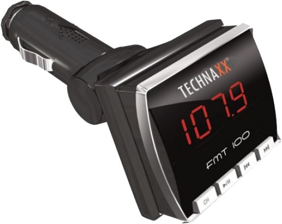 Technaxx FM-sändare med fjärrkontroll