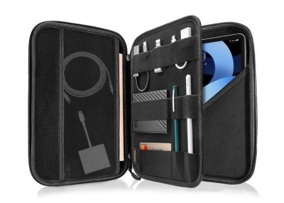 Tomtoc Smart A06 PadFolio Eva Case (iPad Pro 12,9 (2018/2020)) - Grå