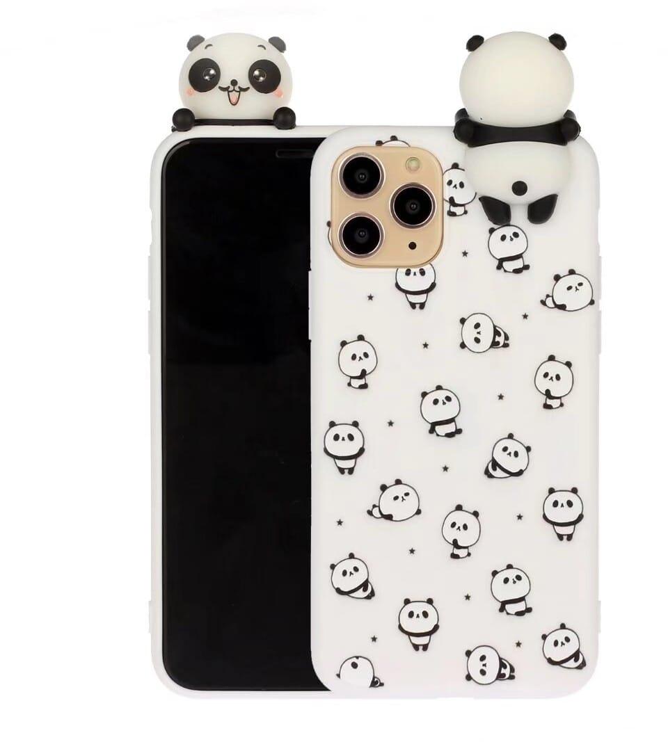 Trolsk 3D Sleepy Pandas Doll Case