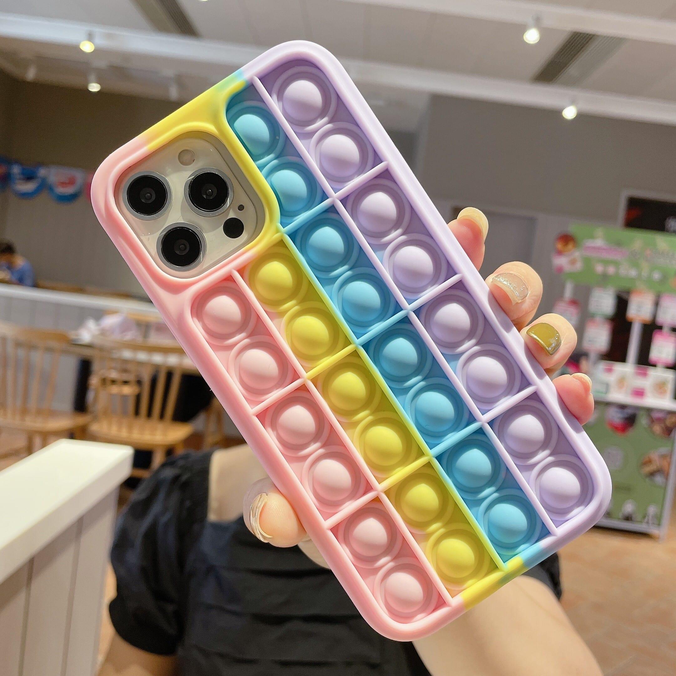 Trolsk Bubble Pop Edges - Rainbow