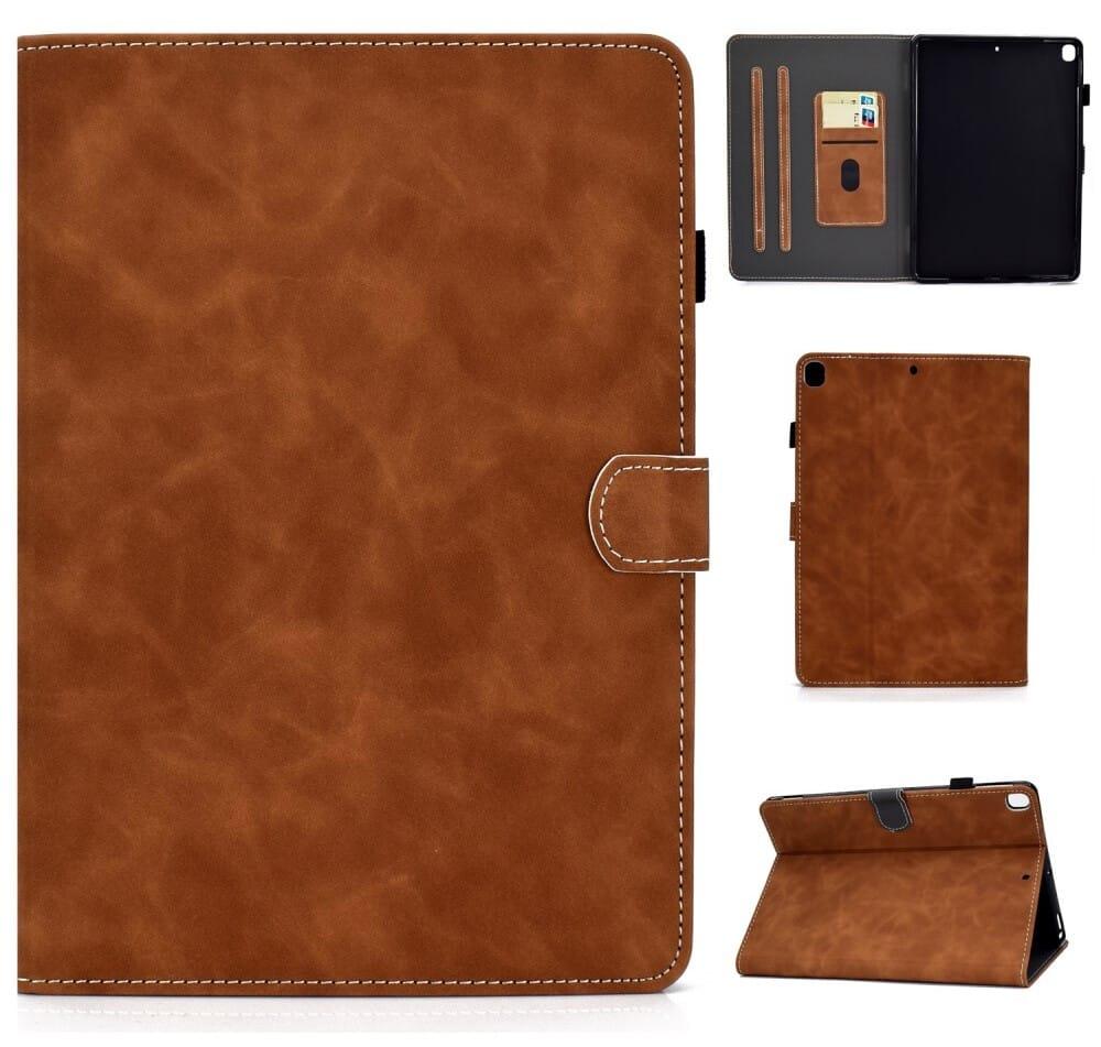 Trolsk Card Slot Cover (iPad 10,2/Air 3) - Brun