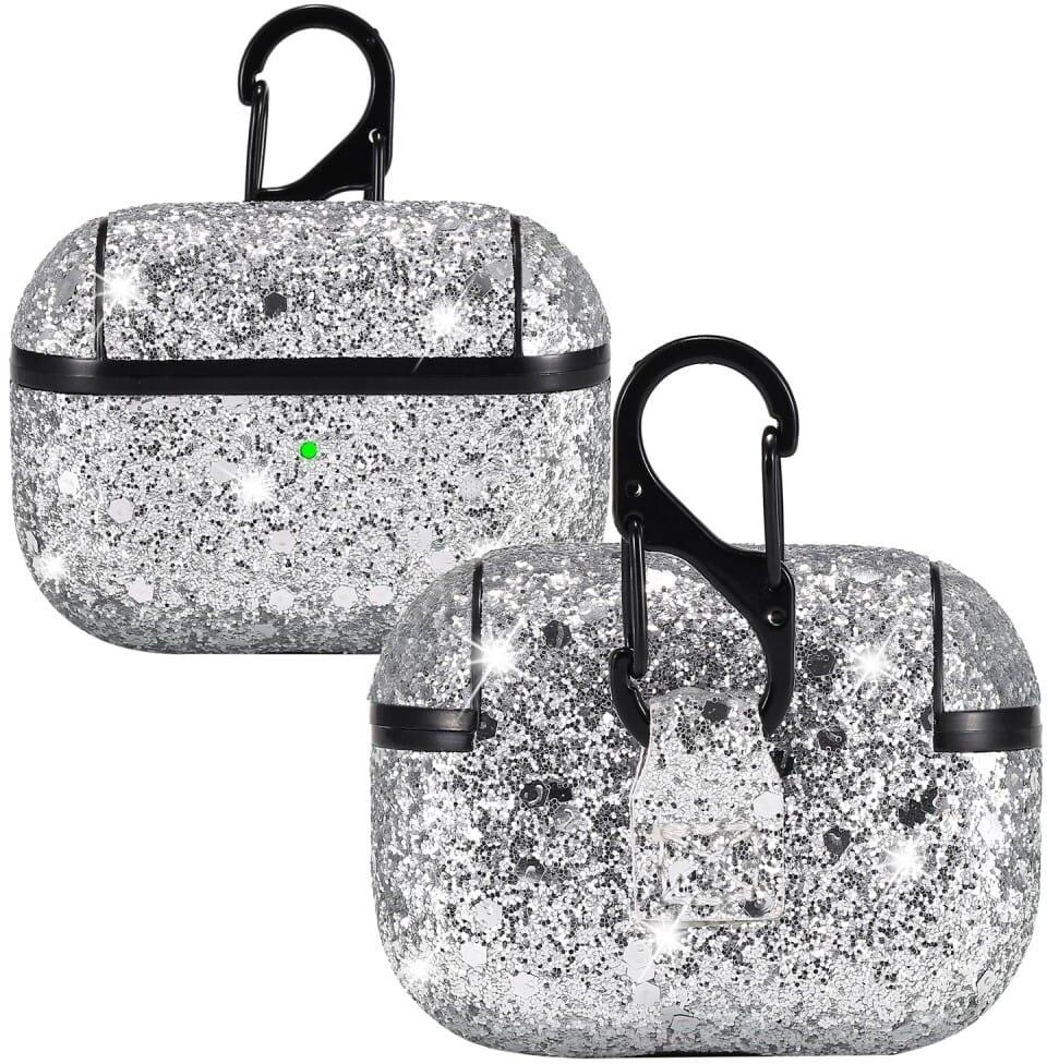 Trolsk Glittery Glitter Case (AirPods Pro) - Guld