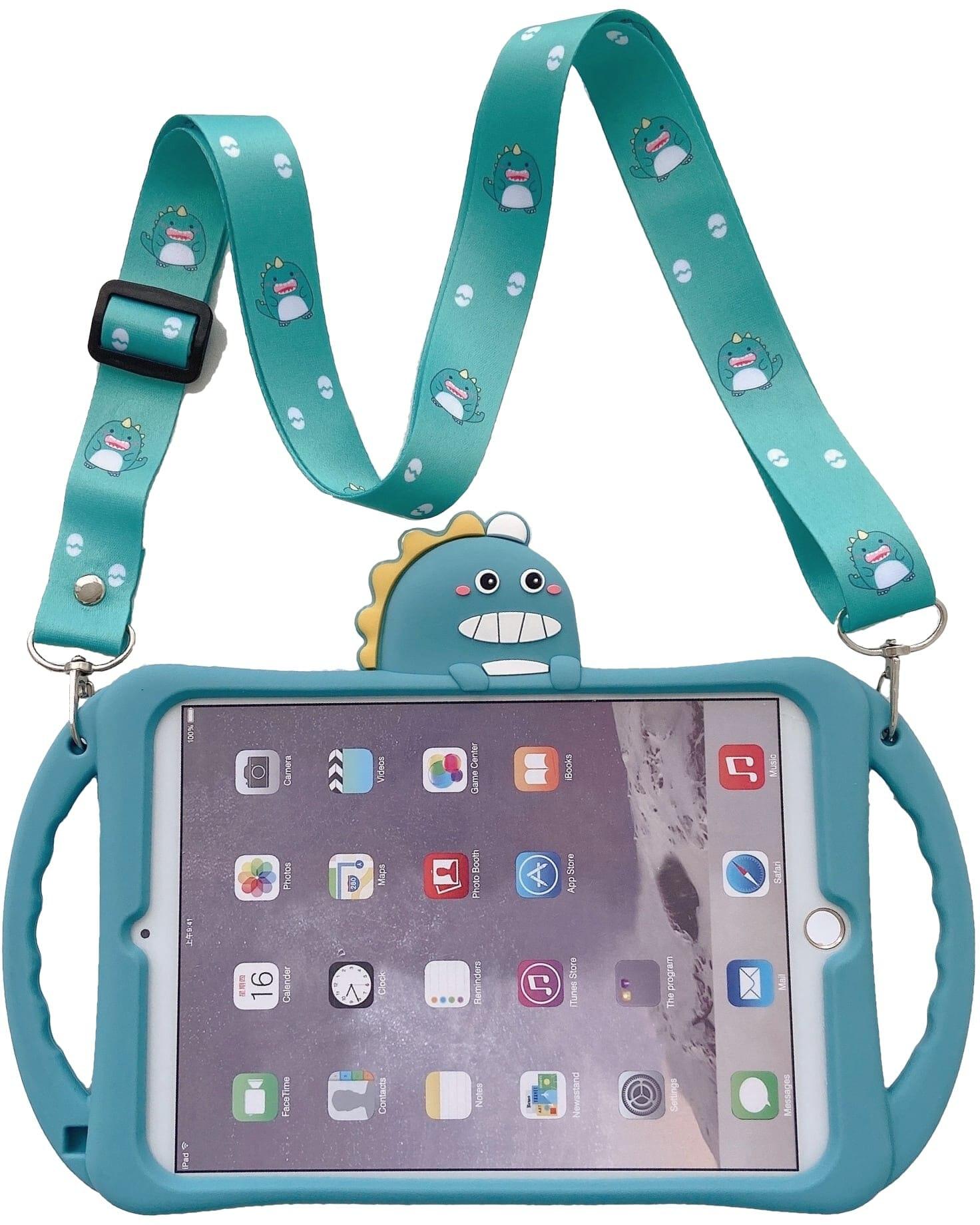 Trolsk Kids Case with strap - Dino (iPad 9,7)