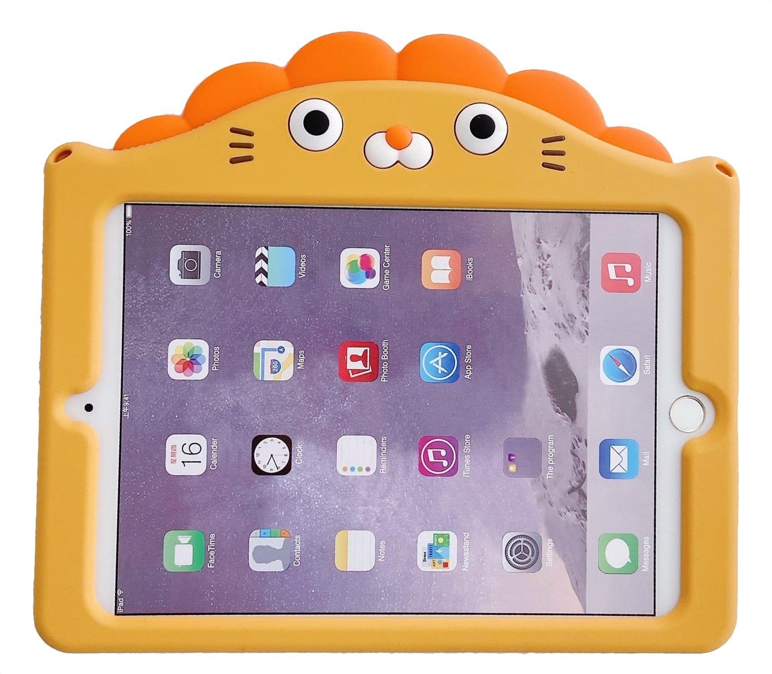 Trolsk Kids Case with strap - Lion (iPad 9,7)