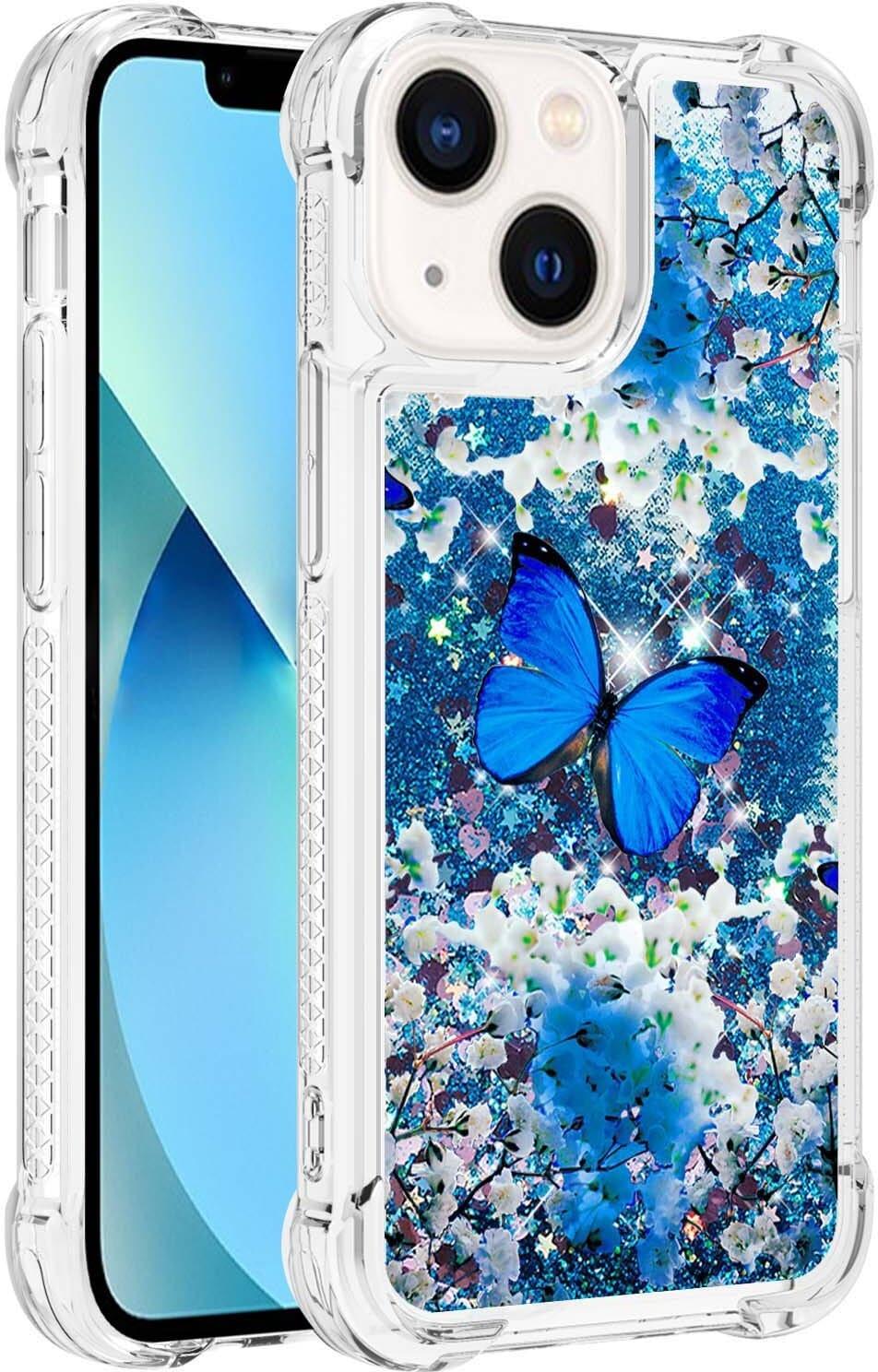 Trolsk Liquid Glitter Case - Butterfly