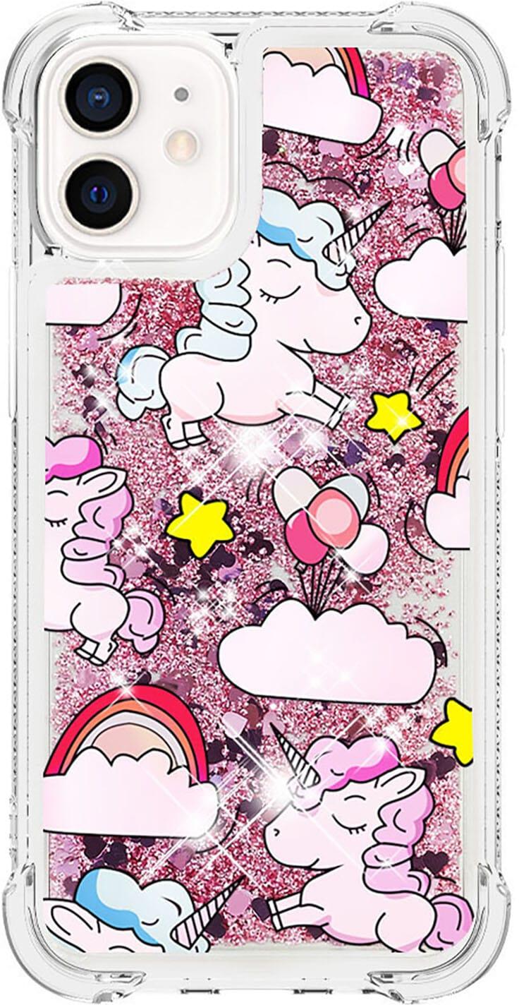Trolsk Liquid Glitter Case - Unicorn