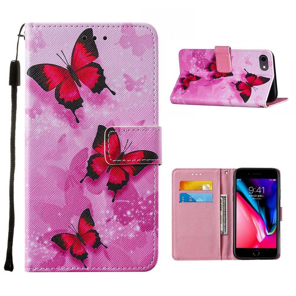 Trolsk Red Butterflies Wallet