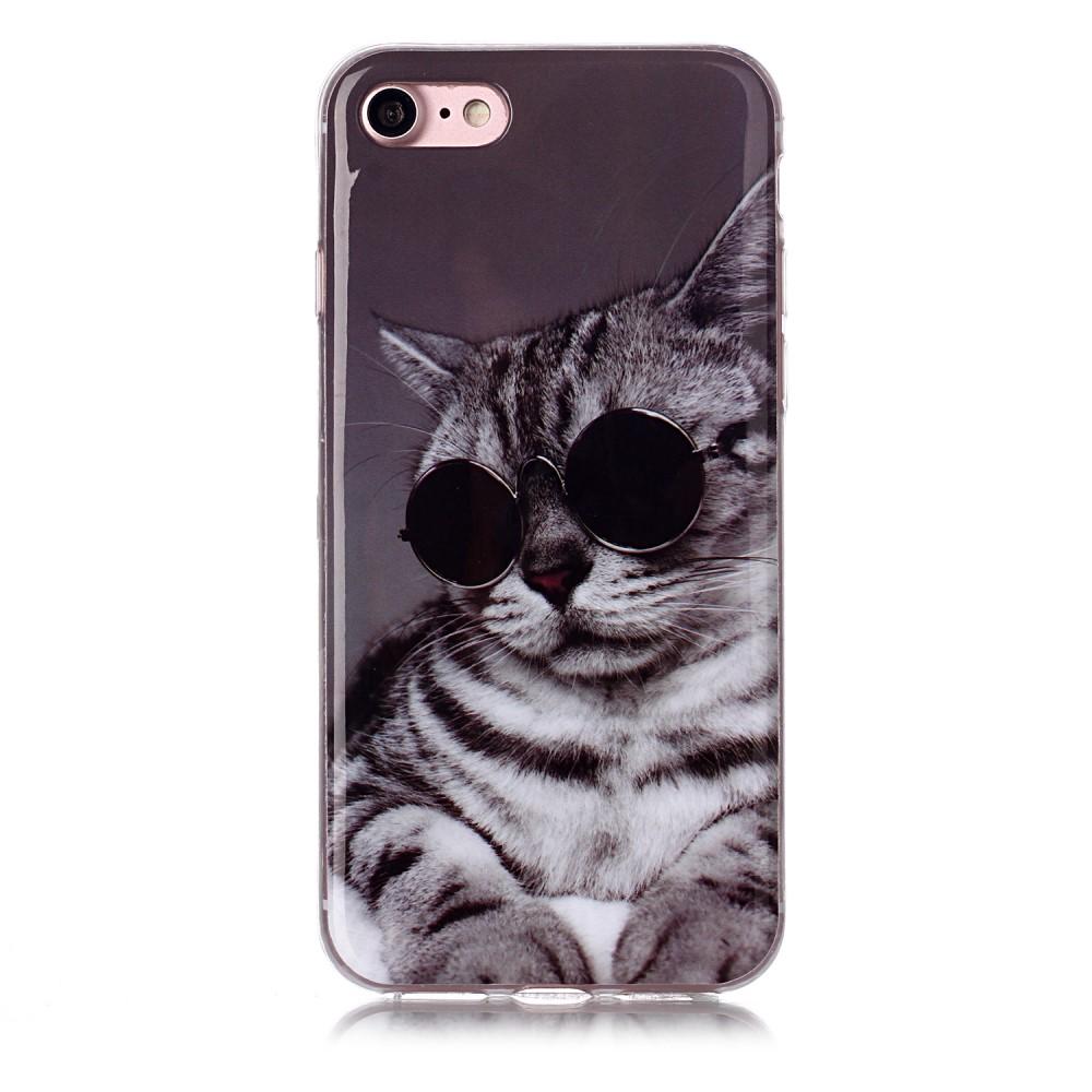 Trolsk TPU Back Case - Cool Cat
