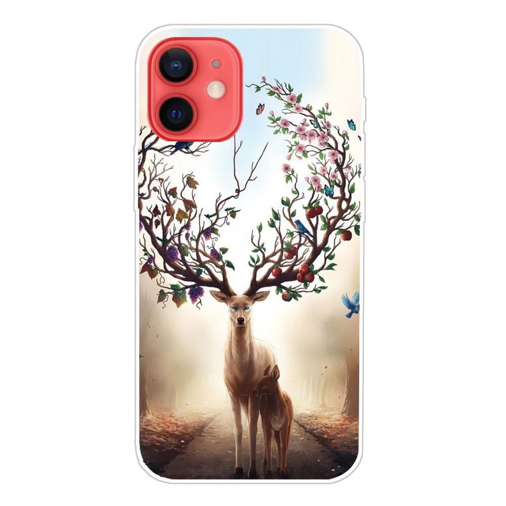 Trolsk TPU Back Case - Flower Deer