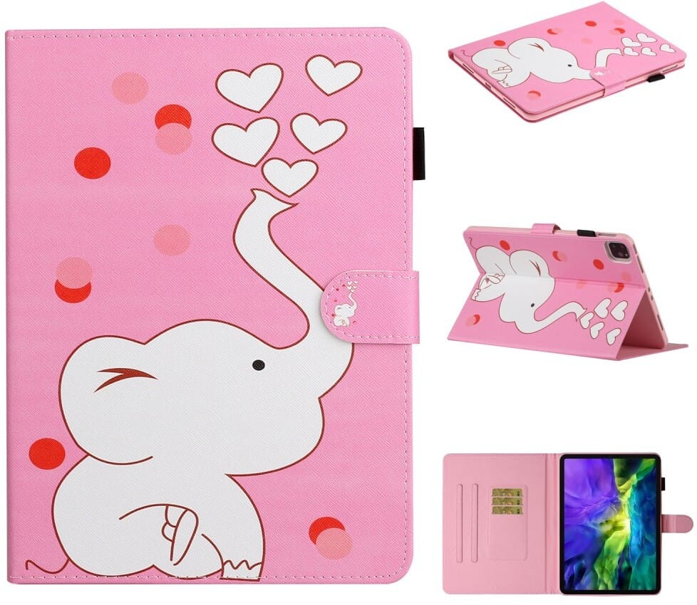 Trolsk Wallet Folio - Elephant (iPad Air 4)
