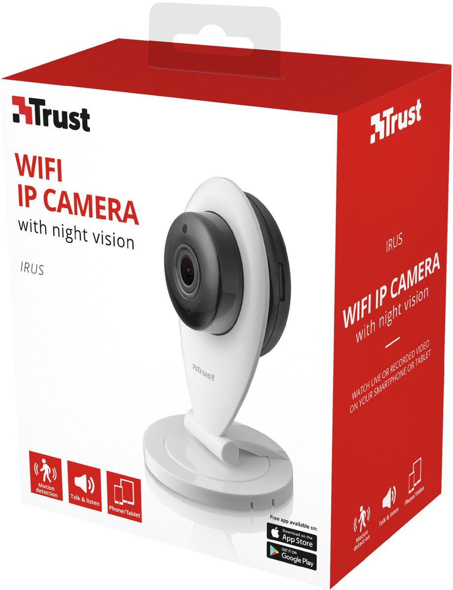 Trust Irus WiFi IP-kamera 720 HD