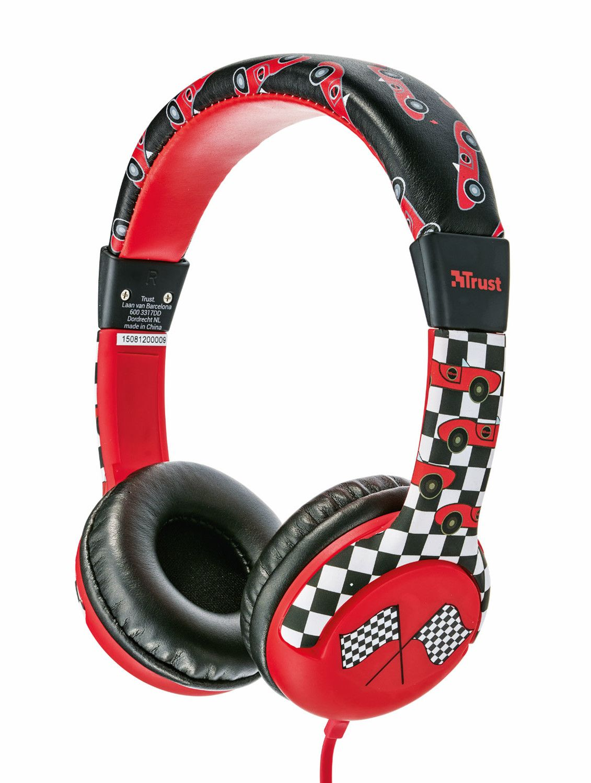 Trust Spila Kids Headphones - Cars