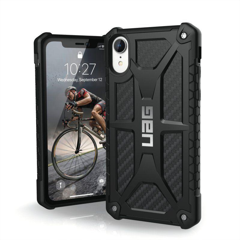 UAG Monarch Case (iPhone Xr) - Kolfiber