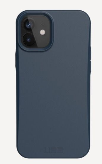 UAG Outback Biodegradable Cover (iPhone 12/12 Pro) - Blå
