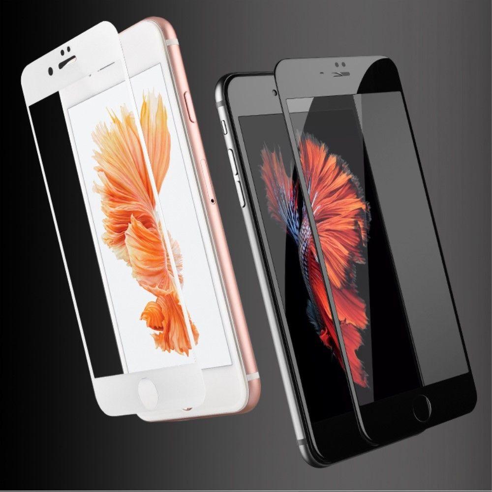 Usams Full Tempered Glass (iPhone 7 Plus) - Svart