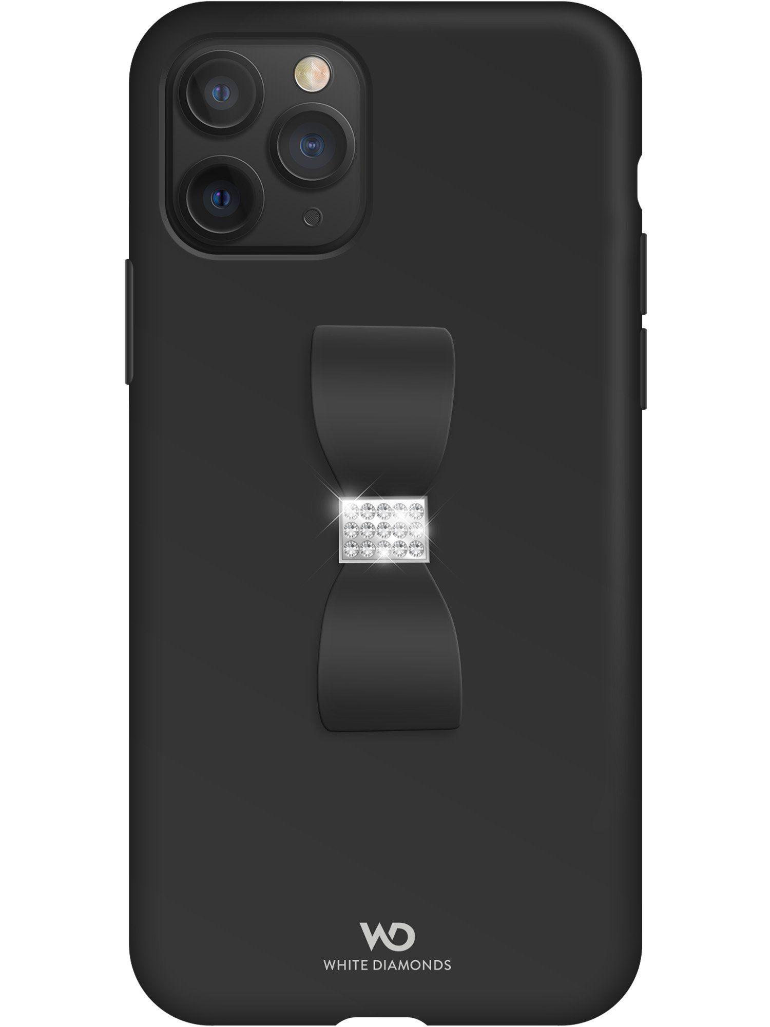 White Diamonds Bow Crystal Case (iPhone 11 Pro) - Guld