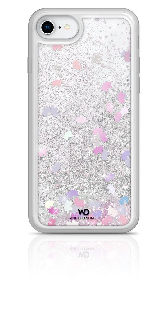 White Diamonds Sparkle Case (iPhone SE2/8/7)