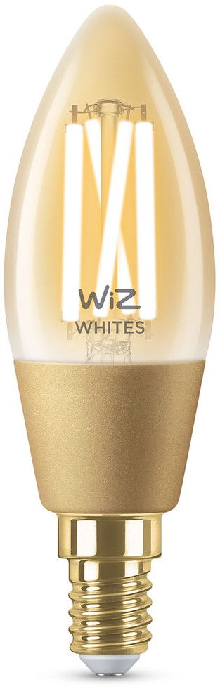 WiZ Filament Amber Smart LED Lamp Kron E14 25W