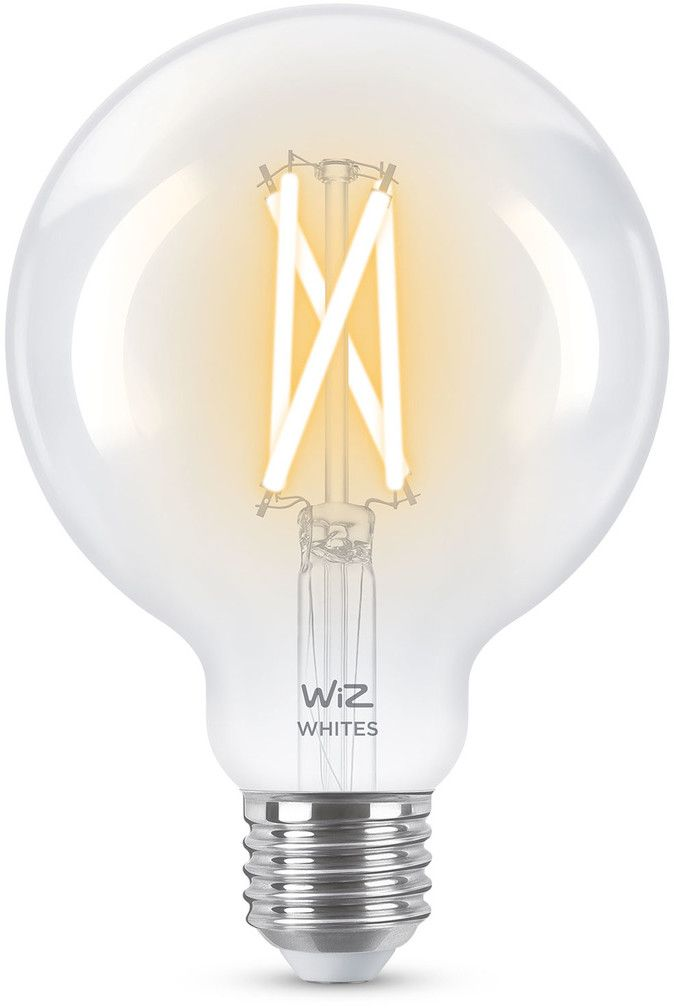 WiZ Filament Smart LED Lamp E27 60W - Glob (G125)