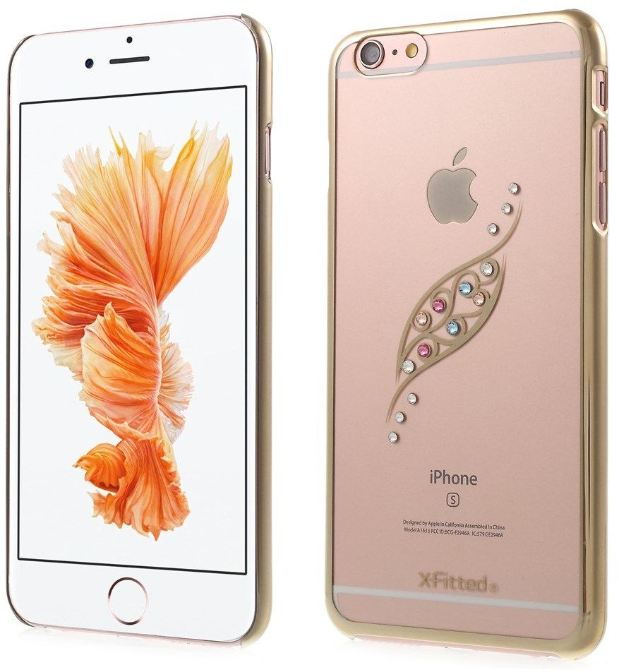 X-Fitted Swarovski Leaf (iPhone 6/6S) - Rosa
