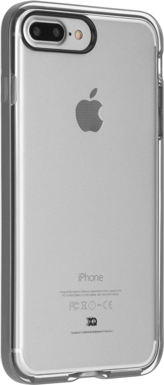 Xqisit Phantom Xcel (iPhone 7 Plus) – Vit/transparent