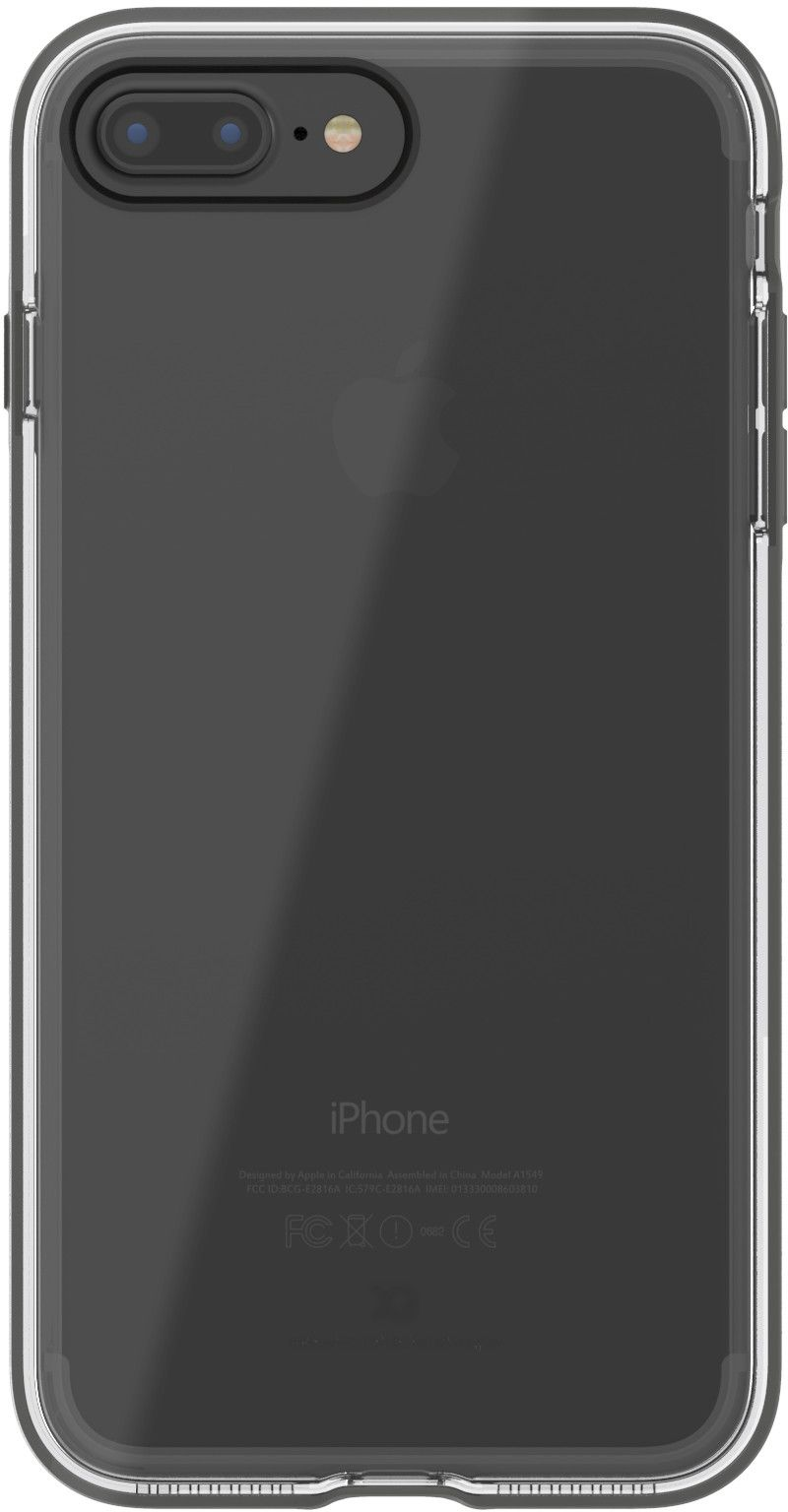 Xqisit Phantom Xplore (iPhone 8/7 Plus) - Grå/transparent
