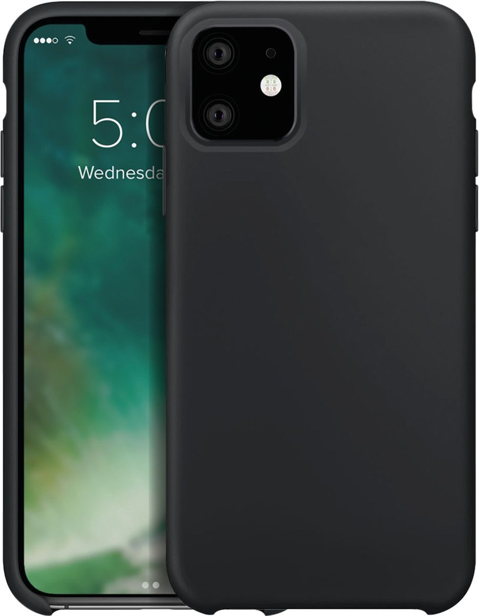Xqisit Silicone Case (iPhone 11) - Blå