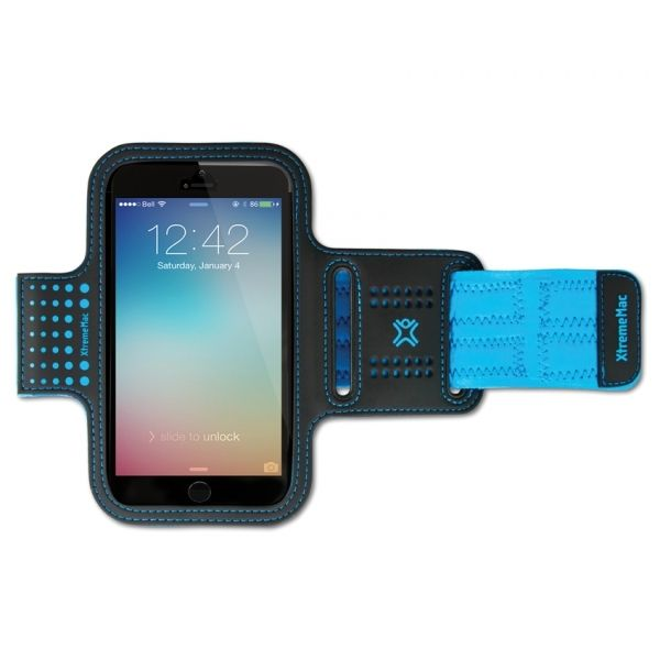 XtremeMac Sportwrap (iPhone 6/6S) - Svart/blå