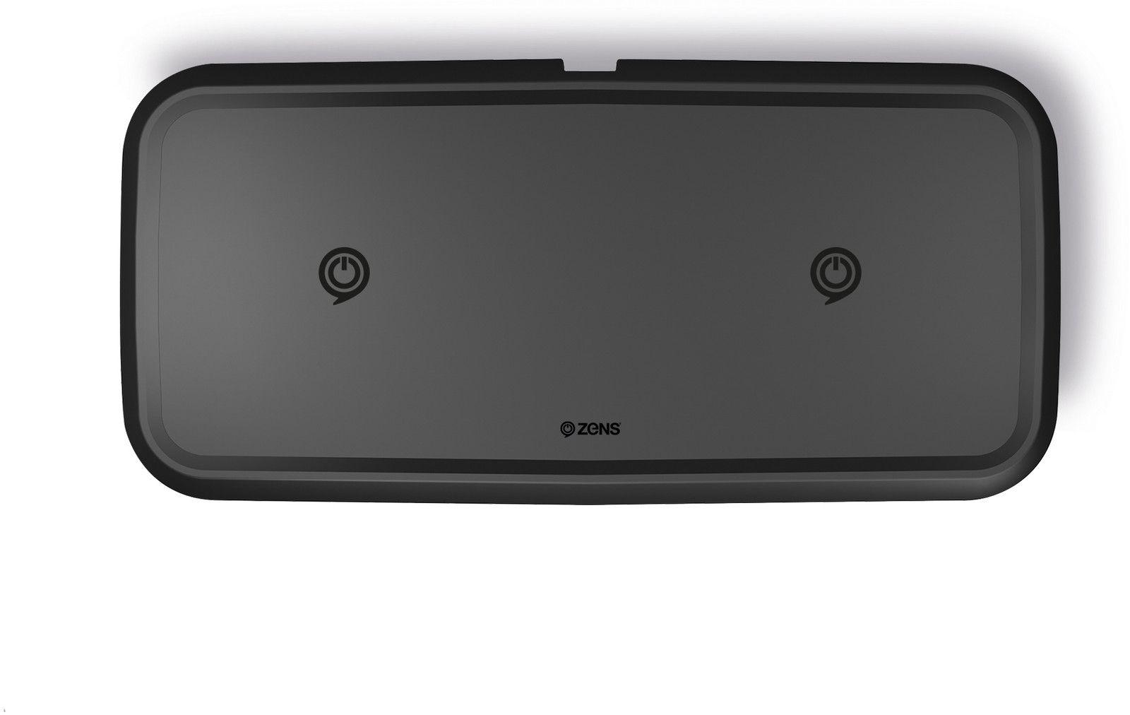 Zens Dual Ultra Fast Wireless Charger 10W  - Svart