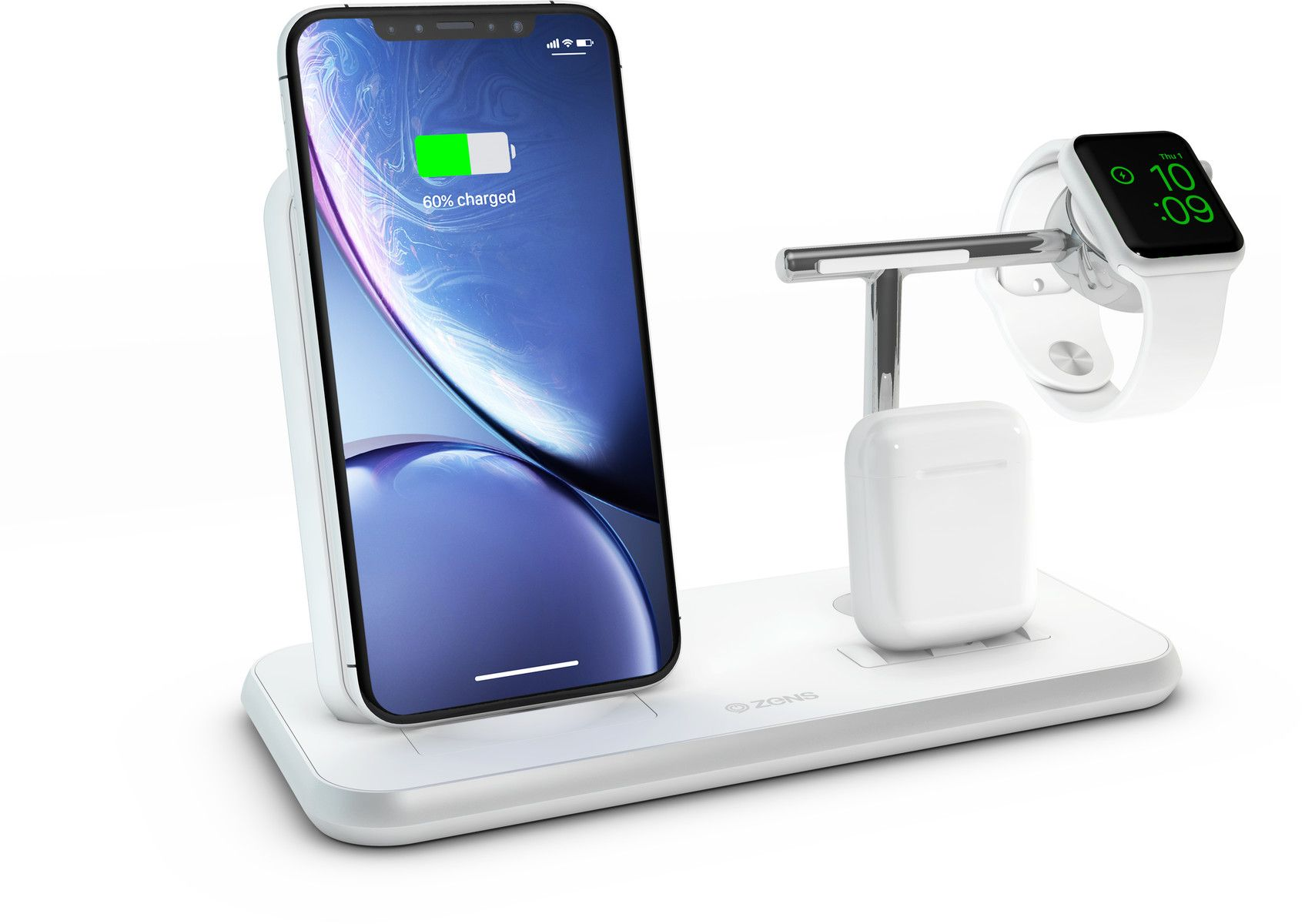 Zens Stand + Dock + Watch Wireless Charger