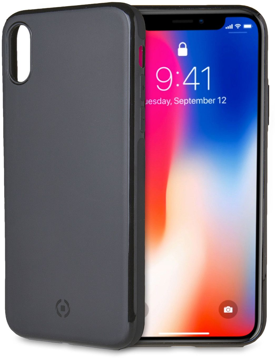 Celly Magnetic Ghost Skin - iPhone X Xs - TPU-skal - iPhonebutiken.se 36328bd860b07