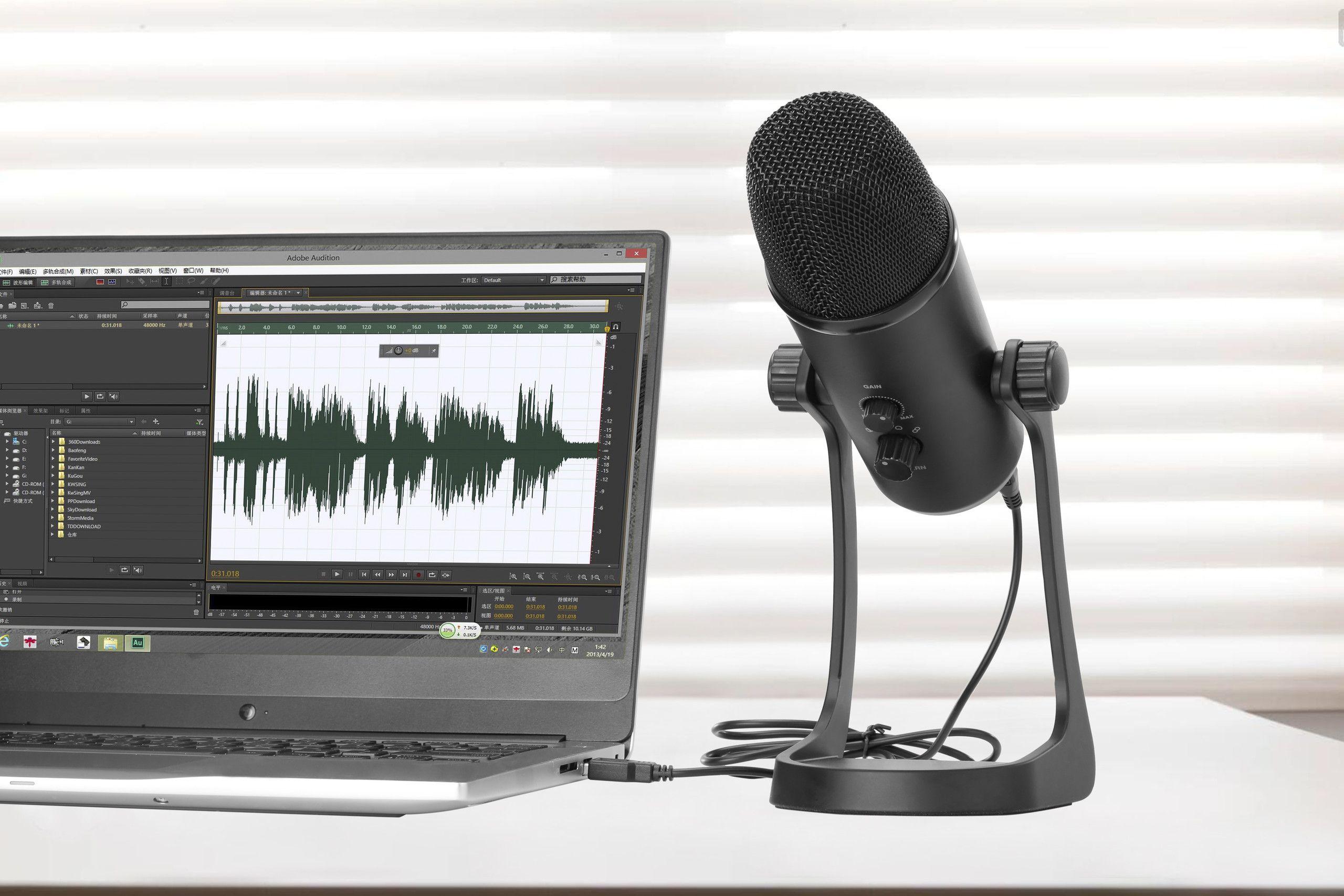 Boya PM700 Gaming Microphone USB Svart | Dustin.no