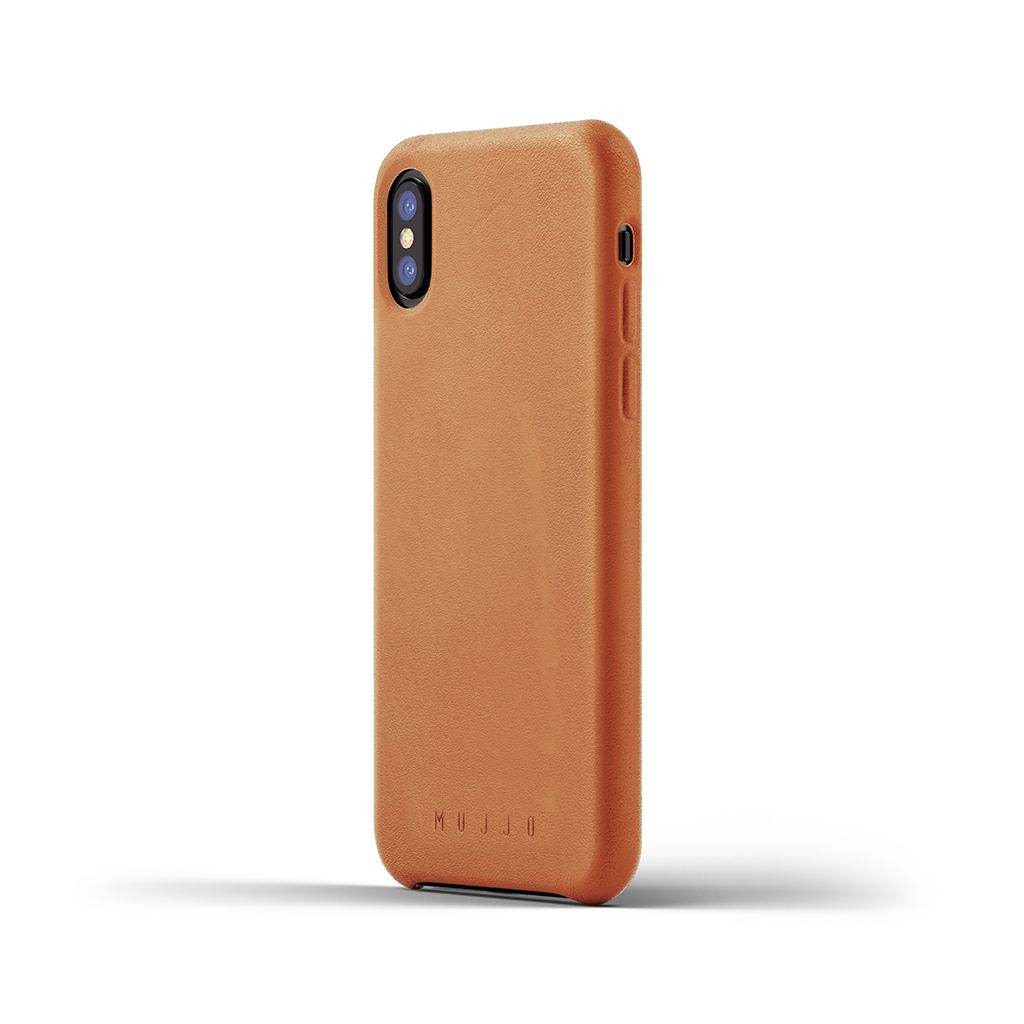 Mujjo Leather Case - Lærdeksel - iPhone X Xs - iPhonehuset.no 75c3e9ac4bb99